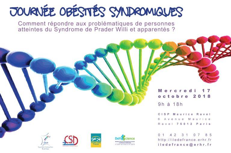 Affiche sur l'obésité syndromique, informations pratiques